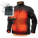 Milwaukee 202B-20M M12 Heated TOUGHSHELL Jacket Only M, Black