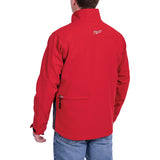 Milwaukee 202R-21S M12 Heated TOUGHSHELL Jacket Kit Small, Red