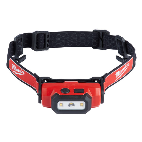 USB Rechargeable Hard Hat Headlamp, Milwaukee Brand P/N 2111-21