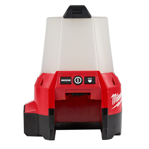 RADIUS Compact Site Light with Flood Mode, Milwaukee Brand P/N 2144-20