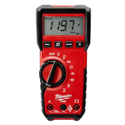 DIGITAL MULTIMETER True RMS, Milwaukee Brand P/N 2216-20