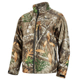 Medium Realtree Camo Heated QUIETSHELL Jacket Only, Milwaukee Brand P/N 222C-20M