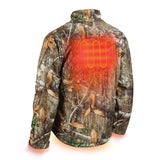 Milwaukee 222C-20L M12 Heated QUIETSHELL Jacket Only L, Realtree Camo