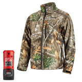 Triple Extra Large Realtree Camo Heated QUIETSHELL Jacket Kit, Milwaukee Brand P/N 222C-213X