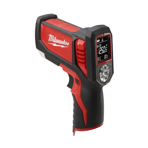 Laser TEMP-GUN M12 Cordless Thermometer-Bare Tool, Milwaukee Brand P/N 2276-20