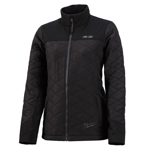Milwaukee 233B-20L M12 Heated Women's AXIS Jacket Only L, Black