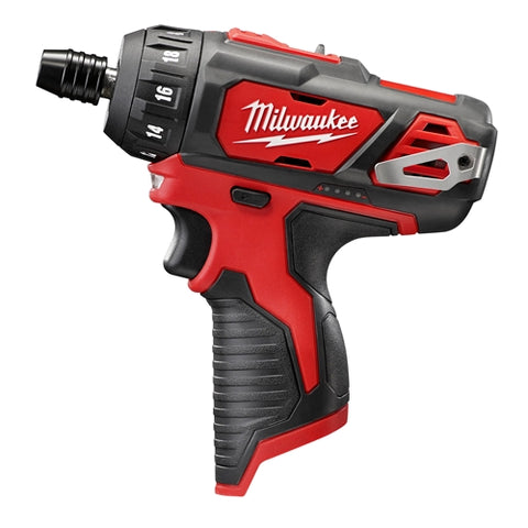 "Milwaukee 2406-20 M12 1/4""  Hex 2 Spd Screwdriver (BARE)"