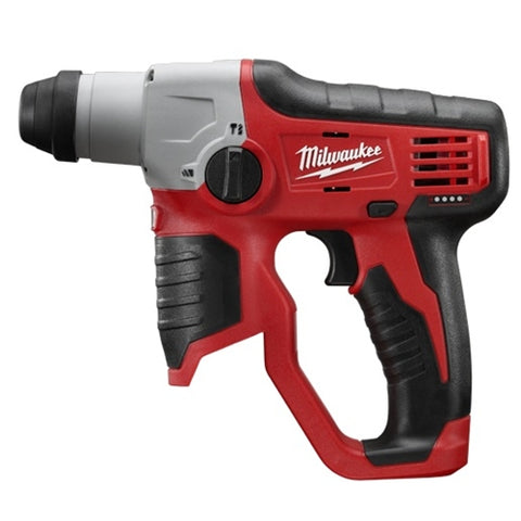 "Milwaukee 2412-20 M12 Cordless 1/2"" SDS Plus Rotary Hammer"