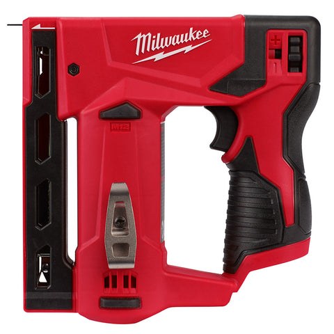 "Milwaukee  2447-20 M12 3/8"" Crown Stapler"