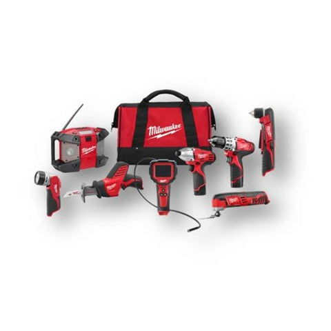 Milwaukee 2495-28 M12™ 8 - Tool Combo Kit