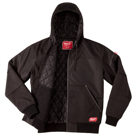 Milwaukee 254B-2X GRIDIRON Hooded Jacket - Black