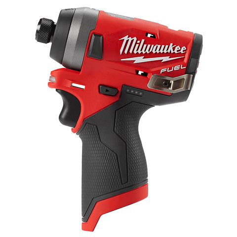 "Milwaukee 2553-20 M12 FUEL 1/4"" Hex Impact Driver - Bare Tool"