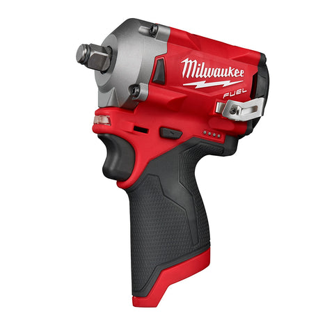 "Milwaukee 2555-20 M12 FUEL Stubby 1/2"" Impact Wrench"