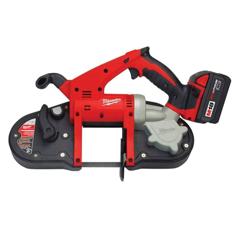 Milwaukee 2629-22 M18 Compact Band Saw Kit with 2 Batteries