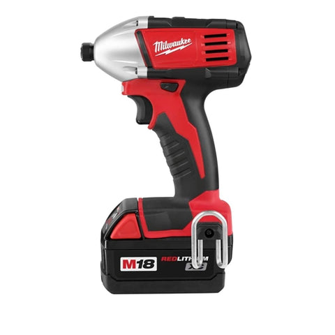 "Milwaukee 2650-22 M18 Li-Ion 18V 1/4"" Hex Compact Impact Driver Kit"