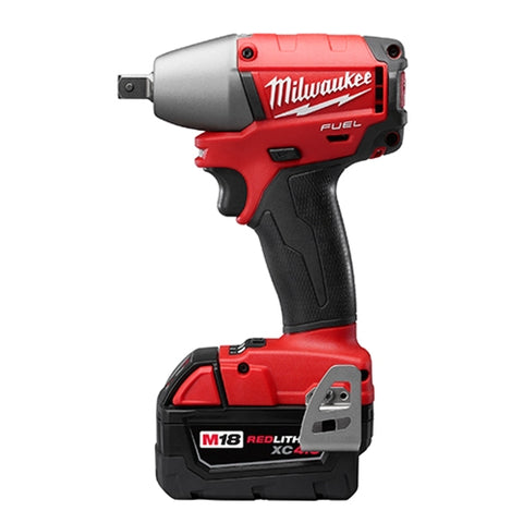 "Milwaukee 2655B-22 M18 FUEL 1/2"" Compact Impact Wrench Kit w/Ball Detent Kit"