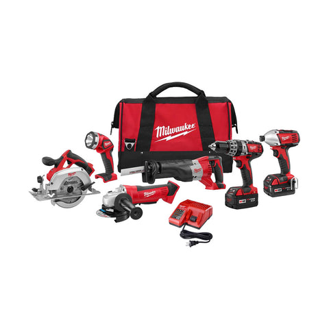 Milwaukee 2696-26 M18 6 - Tool Combo Kit
