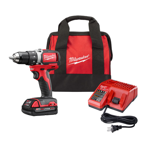 Milwaukee 2701-21P M18 Compact Brushless Drill/Driver