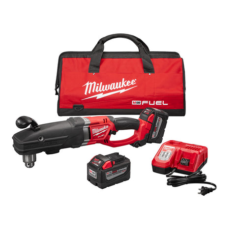 Milwaukee 2709-22HD M18 FUEL SUPER HAWG Right Angle Drill HIGH DEMAND Kit