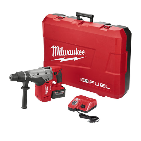 "Milwaukee 2717-21HD M18 FUEL 1-9/16"" SDS Max Rotary Hammer Kit with 1 Battery"