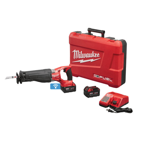 Milwaukee 2721-22HD M18 FUEL One-Key SAWZALL Kit with 9.0HD Batteries and Charger