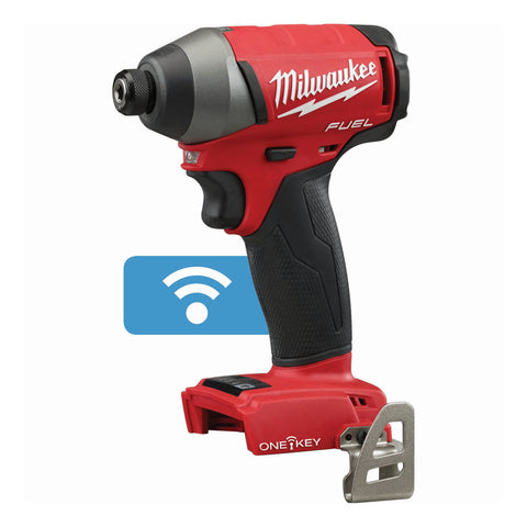 "Milwaukee 2757-20 M18 FUEL 1/4"" Hex Impact Driver with ONE-KEY (Bare Tool)"