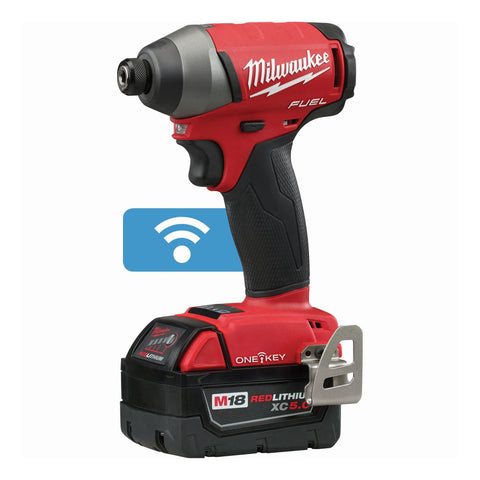 "Milwaukee 2757-22 M18 FUEL 1/4"" Hex Impact Driver with ONE-KEY Kit"