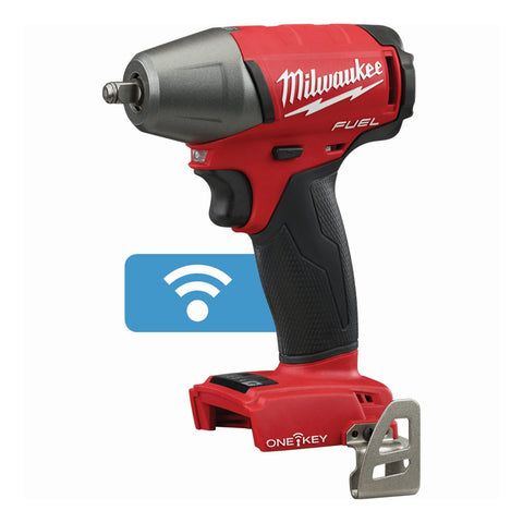 "Milwaukee 2758-20 M18 FUEL 3/8"" Compact Impact Wrench with Friction Ring with ONE-KEY (Bare)"