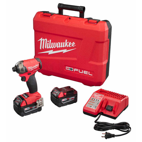 "Milwaukee 2760-22 M18 FUEL SURGE 1/4"" Hex Hydraulic Driver Kit"