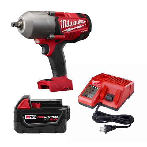 "Milwaukee 2763-21XC M18 FUEL 1/2"" High Torque Impact Wrench Kit"