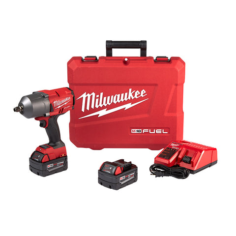 "Milwaukee 2767-22 M18 FUEL 1/2"" High Torque Impact Wrench w/ Friction Ring Kit"