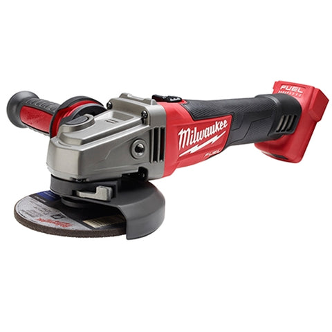 "Milwaukee 2781-20 M18 FUEL 4-1/2 - 5"" Grinder, Slide Switch Lock-On Bare"
