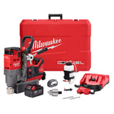 "Milwaukee 2788-22 M18 FUEL 1-1/2""  Cordless Lineman Magnetic Drill Kit with AC/DC Car Charger"
