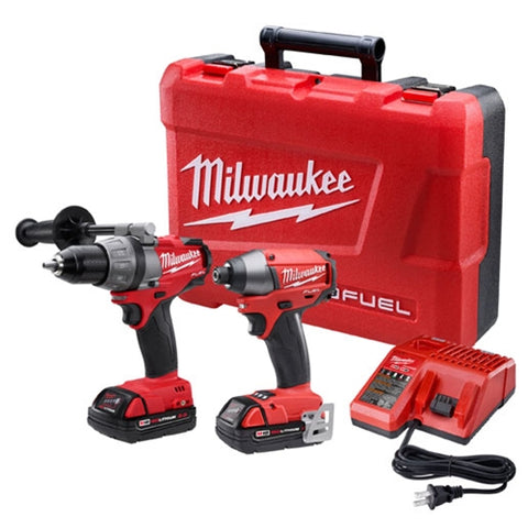 Milwaukee 2791-22CT M18 FUEL Drill/Driver and Impact Driver Combo Kit