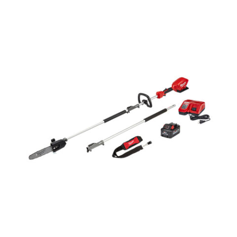 "Milwaukee 2825-21PS M18 FUEL 10"" Pole Saw Kit w/ QUIK-LOK"
