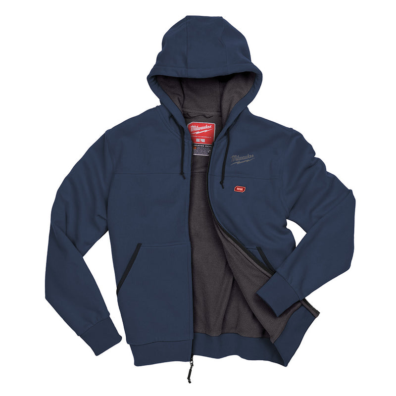 Milwaukee 302BL-20 M12 Navy Blue Heated Hoodie Only