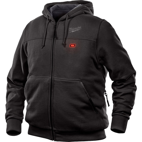 Milwaukee 302B-21L M12 Heated Hoodie Kit L, Black