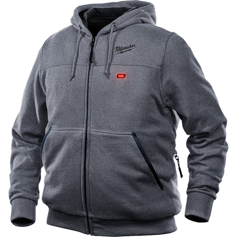 Milwaukee 302G-21M M12 Heated Hoodie Kit M, Gray
