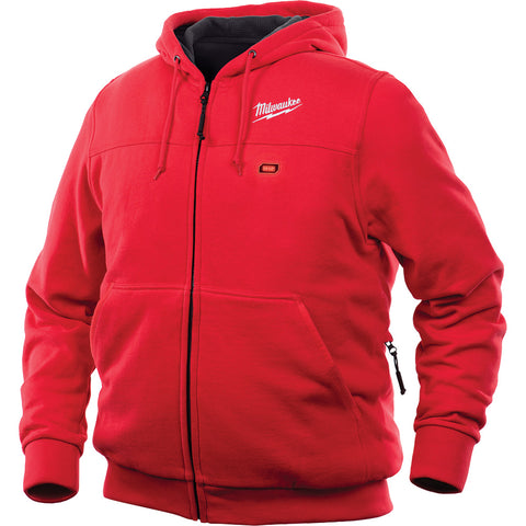 Milwaukee 302R-203X M12 Heated Hoodie Only 3X, Red