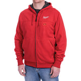 Milwaukee 302R-21XL M12 Heated Hoodie Kit XL, Red