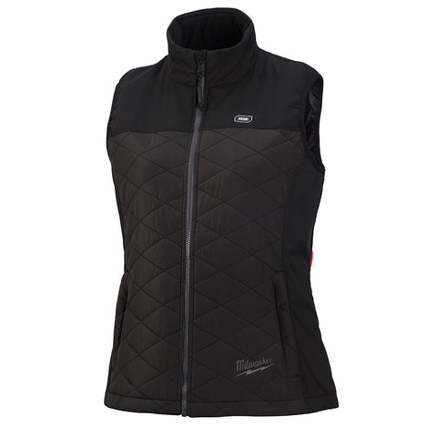 Milwaukee 333B-20 M12 Heated Women's AXIS Vest Only, Black