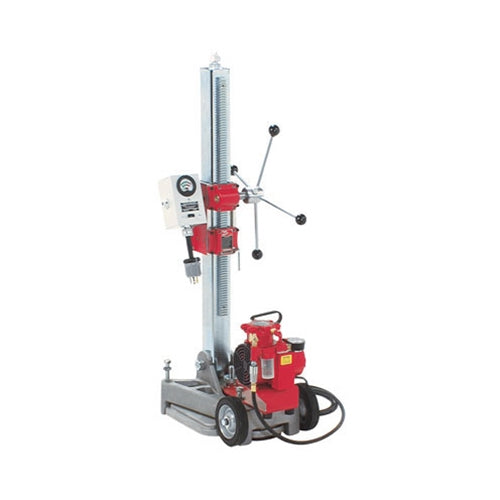 Milwaukee 4136 Diamond Coring Rig with Large Base Stand, Vac-U-Rig Kit and Meter Box