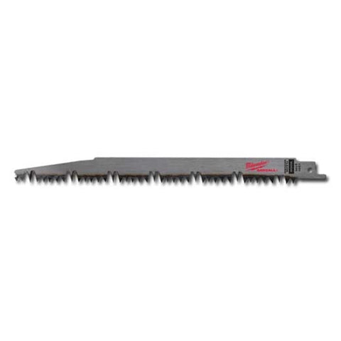 Milwaukee 48-00-1301 Sawzall Blade Wood 5 Teeth per Inch 9-Inch Length, 5 Pack