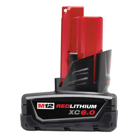 Milwaukee 48-11-2460 M12 REDLITHIUM XC6.0 Extended Capacity Battery Pack