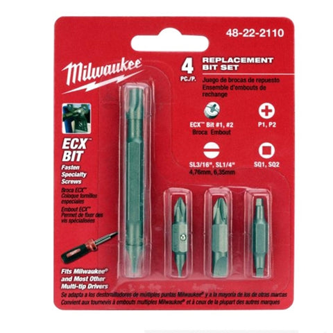 Milwaukee 48-22-2110 Replacement Bits for 11 in 1 Screwdriver