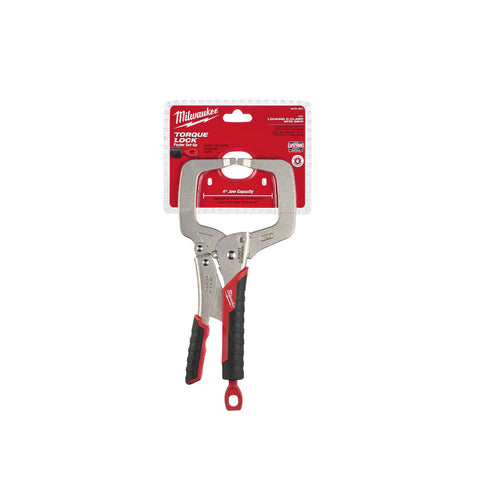 "Milwaukee 48-22-3631 11"" Locking C-Clamp with Grip"
