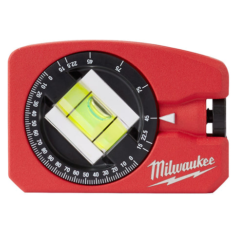 Milwaukee 48-22-5102 Die Cast Pocket Level with 360 Vial