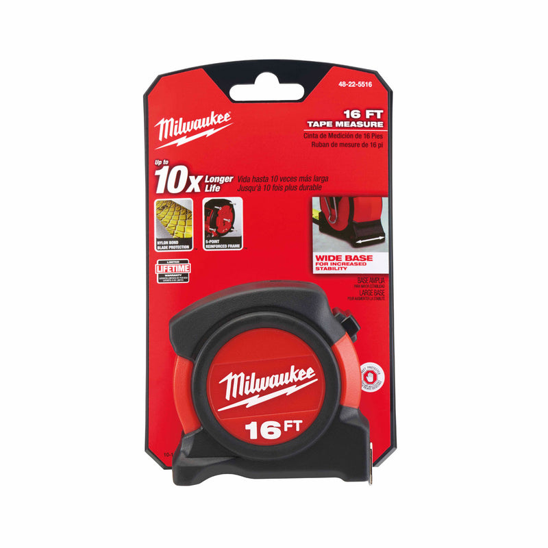 Milwaukee 48-22-5516 16ft General Contractor Tape Measure