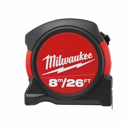 Milwaukee 48-22-5625 8m / 26 ft General Contactor Tape Measure