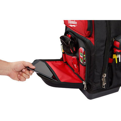 7d2705539d2a Milwaukee 48-22-8201 Ultimate Jobsite Backpack – Red Tool Store